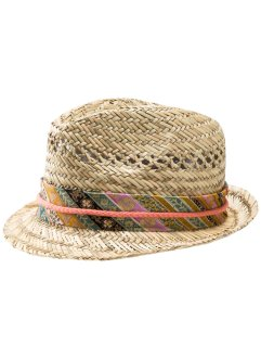 Chapeau de paille fille, bpc bonprix collection, naturel