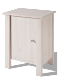 Table de chevet Bob, bpc living, blanc