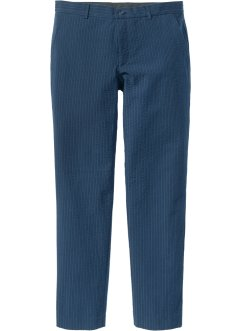 Pantalon de costume en seersucker Slim Fit Straight, RAINBOW