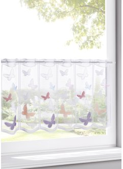 Brise-bise jacquard avec papillons, bpc living bonprix collection