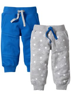 Babyjoggebukse (2-pkn.) bio-bomull., bpc bonprix collection