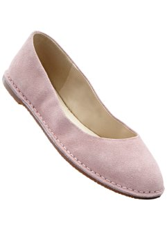 Ballerines en cuir, bpc selection, rose clair