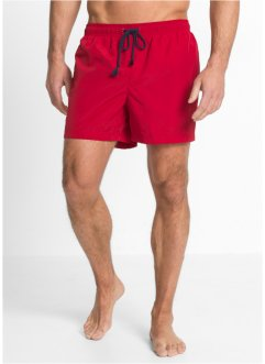 Short de plage, bpc bonprix collection, rouge foncé