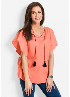 Blouse-tunique, bpc bonprix collection, saumon