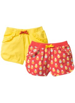 Lot de 2 shorts en jersey, bpc bonprix collection