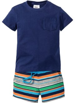 T-shirt + short sweat (Ens. 2 pces.), bpc bonprix collection