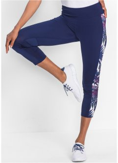 Legging de sport à empiècements contrastants, longueur 3/4, bpc bonprix collection