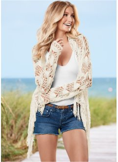 Cardigan au crochet, BODYFLIRT boutique