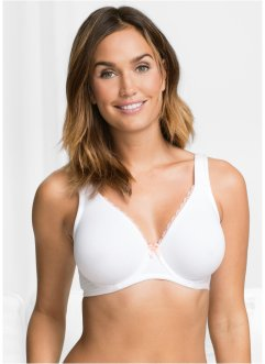 Soutien-gorge moulé coton/modal, bpc bonprix collection