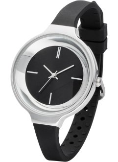 Montre bracelet fin en silicone, bpc bonprix collection