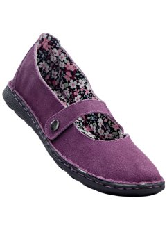 Ballerines cuir velours, bpc selection