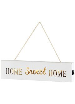 "Écriteau LED ""Home Sweet Home"", bpc living"