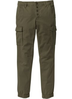 Pantalon cargo extensible Slim Fit Straight, RAINBOW