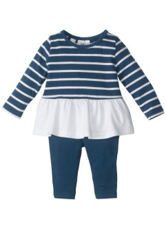 Robe + legging bébé (Ens. 2 pces.) coton bio, bpc bonprix collection