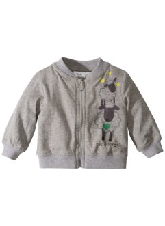 Gilet bébé en jersey bio, bpc bonprix collection
