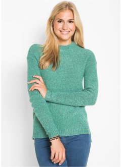 Pull en maille bouclée, bpc bonprix collection
