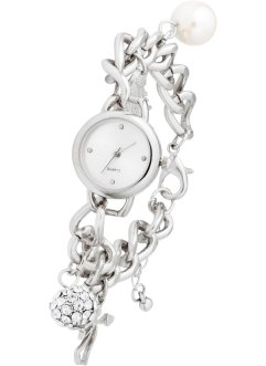 Montre-bracelet à pendentifs charms, bpc bonprix collection