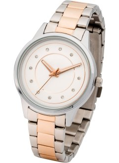 Montre-bracelet bicolore, bpc bonprix collection