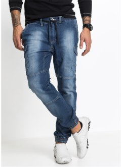 Jean base extensible Slim Fit Tapered, RAINBOW