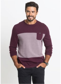 Pull avec poche Regular Fit, bpc bonprix collection