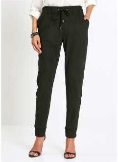 Pantalon confort en synthétique imitation daim, bpc selection premium