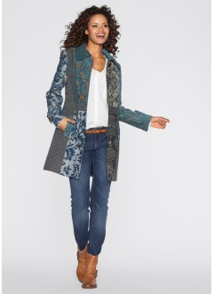 Manteau en jacquard mode, RAINBOW