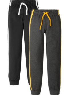 Lot de 2 pantalons matière sweat, bpc bonprix collection