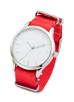 Montre à bracelet textile interchangeable, bpc bonprix collection