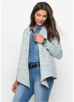 Gilet sweat-shirt, manches longues, John Baner JEANSWEAR