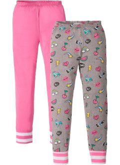 Lot de 2 pantalons de pyjama, bpc bonprix collection