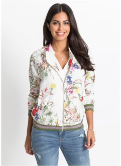 Blouson à imprimé et applications brillantes, BODYFLIRT