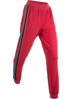 Pantalon sweat léger avec galon multicolore, bpc bonprix collection