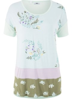 T-shirt style patchwork, manches 1/2, bpc bonprix collection