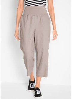 Pantalon lin 7/8, ample, bpc bonprix collection
