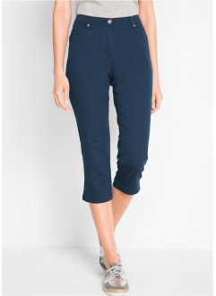 Pantalon extensible galbant 3/4, bpc bonprix collection