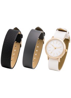 Set montre et bracelets interchangeables, bpc bonprix collection