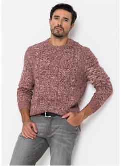 Pull à motif torsadé Regular Fit, bpc bonprix collection