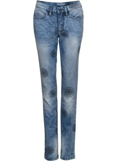Jean extensible authentique, imprimé, CLASSIC FIT, John Baner JEANSWEAR