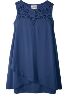 Robe en jersey et chiffon, bpc bonprix collection