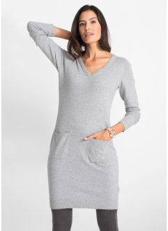 Robe en maille, coton recyclé, bpc bonprix collection