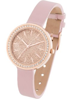 Montre sertie de cristaux Swarovski®, bpc bonprix collection