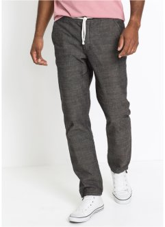 Pantalon chino en chambray Regular Fit, bpc bonprix collection