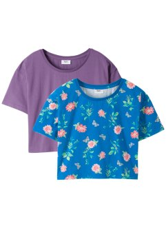 Lot de 2 T-shirts boxy, bpc bonprix collection