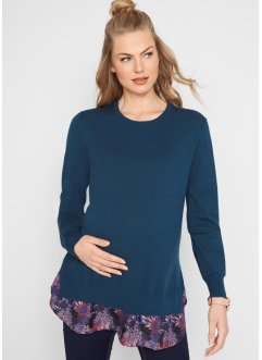 Pull de grossesse style 2 en 1, bpc bonprix collection