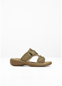 Mules en cuir, bpc bonprix collection