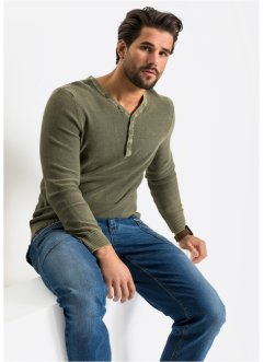 Pull aspect délavé Regular Fit, John Baner JEANSWEAR