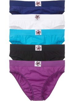 Lot de 5 slips, bpc bonprix collection
