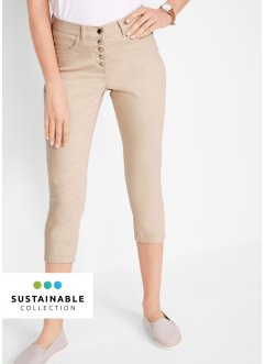 Pantalon 3/4 éco-responsable en polyester recyclé, bpc bonprix collection