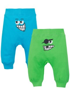 Lot de 2 pantalons sweat bébé coton bio, bpc bonprix collection