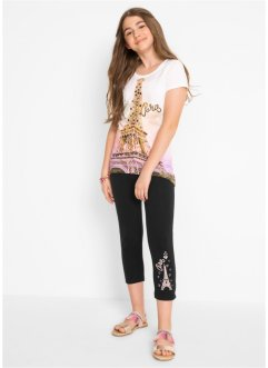 T-shirt + legging 3/4 (Ens. 2 pces.), bpc bonprix collection
